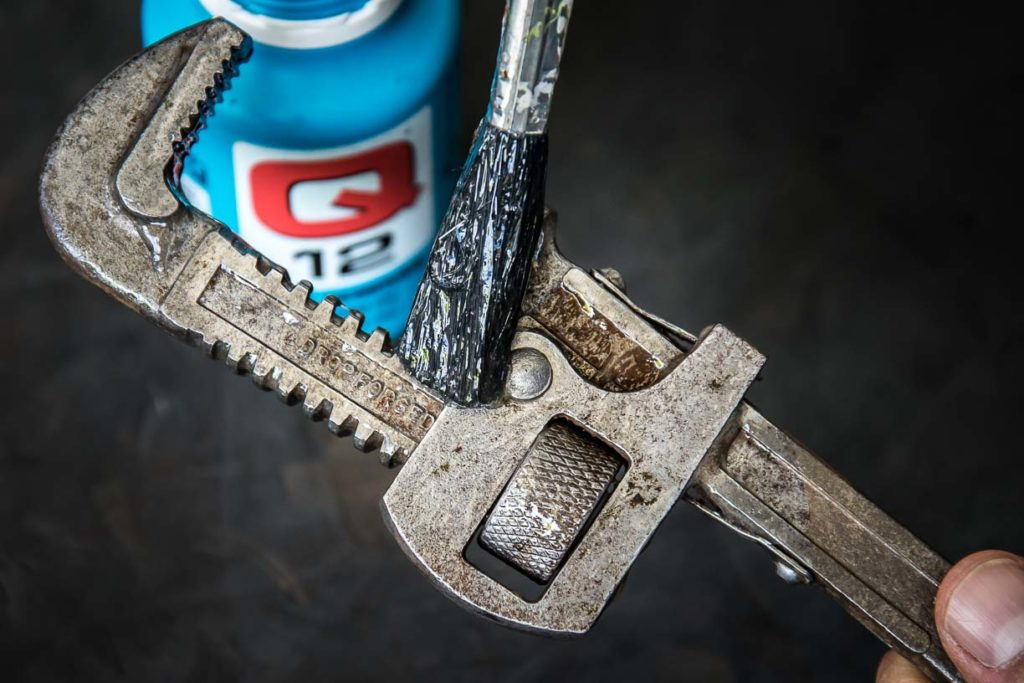 HOW TO RESTORE OLD TOOLS WITH Q12 RUST REMOVER