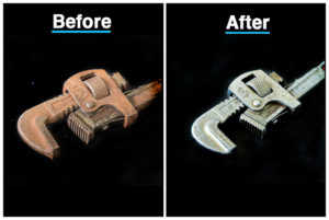 Rust remover results