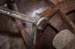 Stuck bolt