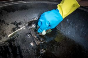 Cleaning the vent ports of your weber