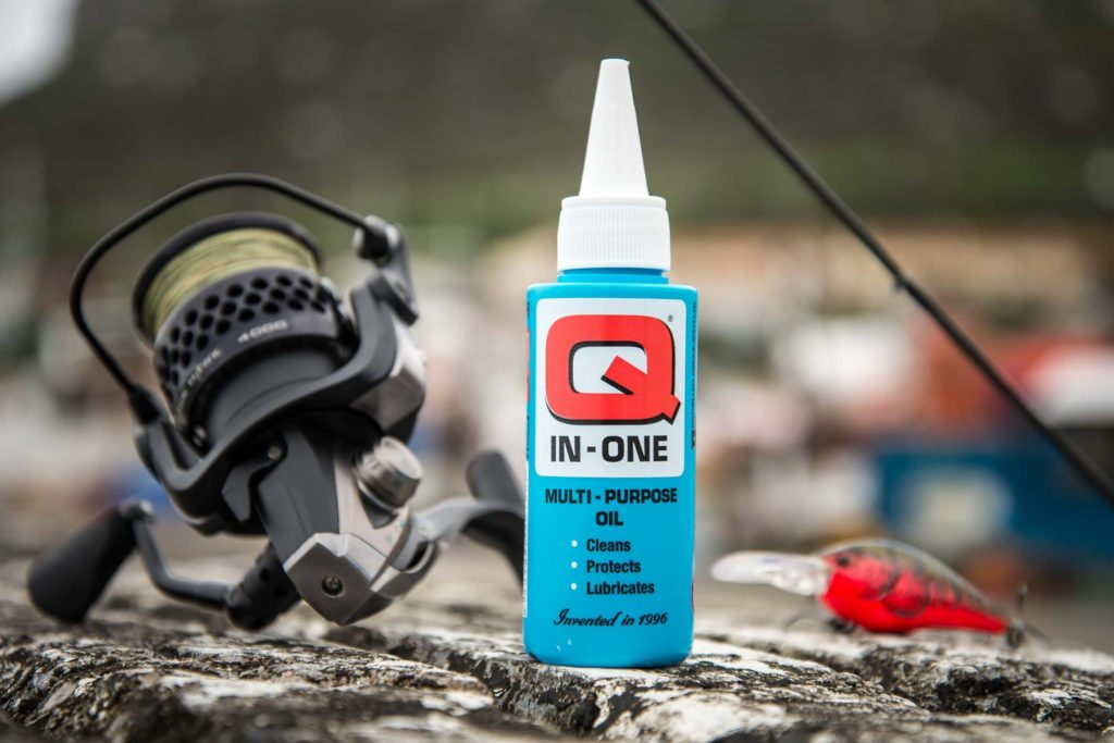 Which Q-Product is best for fishing reels?
